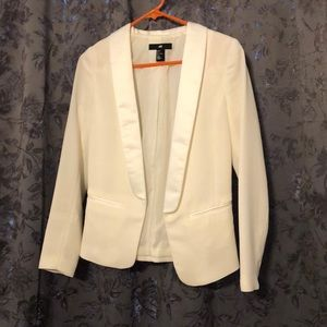 H&M Jackets & Coats - H&M White/Cream Blazer size 2
